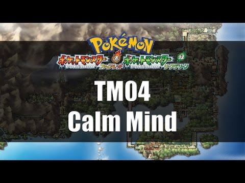 Pokemon Fire Red & Leaf Green | Where to find TM04 Calm Mind