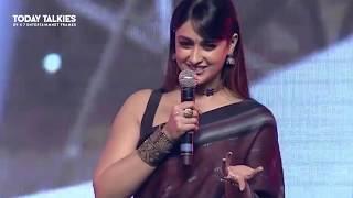 Ileana Hot saree Video at Amara Akbar Anthony PreRelease Evevnt