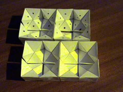 How to make an Origami Yoshimoto Cube by FK