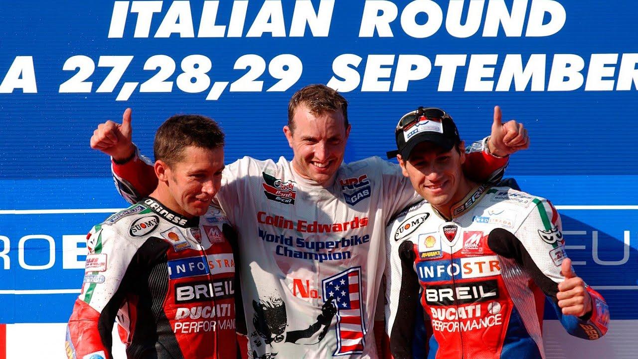 #WorldSBK classics: Imola 2002 full race