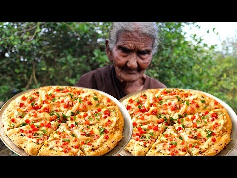 Pizza | Chicken Pizza | Chicken Pizza Cooking by our grandma