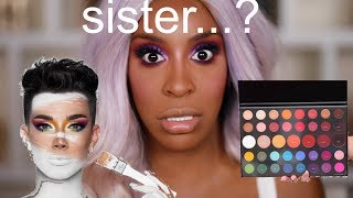 I'm The LAST PERSON To Review: James x Morphe Palette | Jackie Aina