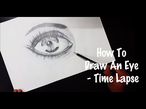 How to draw an eye ! sketching eyes !how to draw shiny/glossy eyes