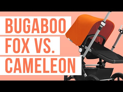 Bugaboo Fox 2018 vs. Bugaboo Cameleon 2018 Stroller Comparison | Ratings, Reviews, Prices
