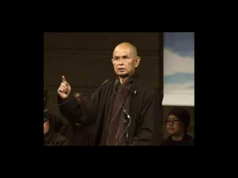 Thich Nhat Hanh talks about suicide prevention and how to handle difficult emotions