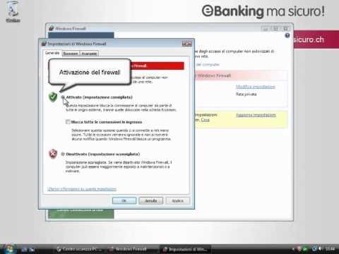 Attivazione di Firewall Windows Vista (IT)