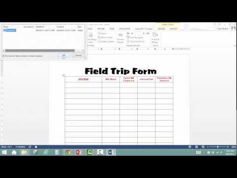 Setting Up a Macro for your Auto-Fill Forms