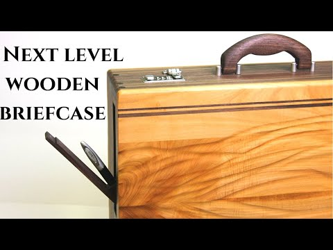 Making Ultimate Wooden Briefcase w Hidden Compartment