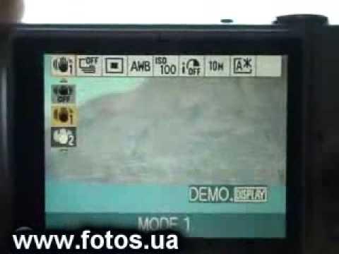 Обзор Samsung Lumix DMC-FX35