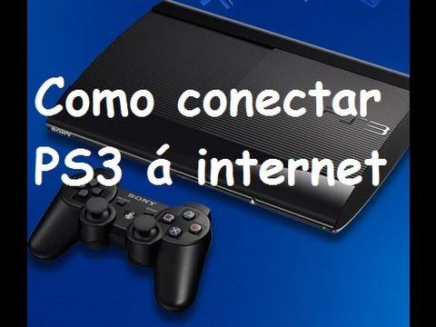 Como conectar o PS3 na internet