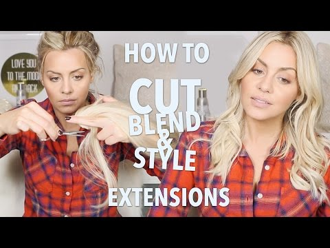 How to Cut, Blend and Style Hair Extensions
