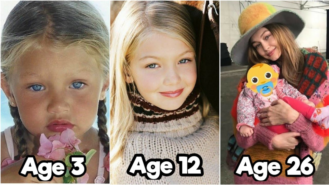 Gigi Hadid Transformation From 1 to 26 Years Old (2021 Updated)