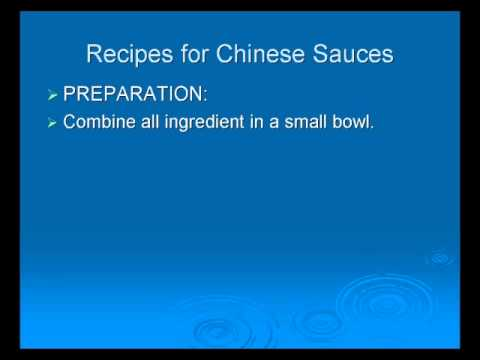 Art of Chinese Cooking - Food Basics Part 5