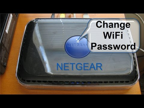 How to change wifi Password - NETGEAR N600 Dual Band Wi-Fi Router - Netgear Login