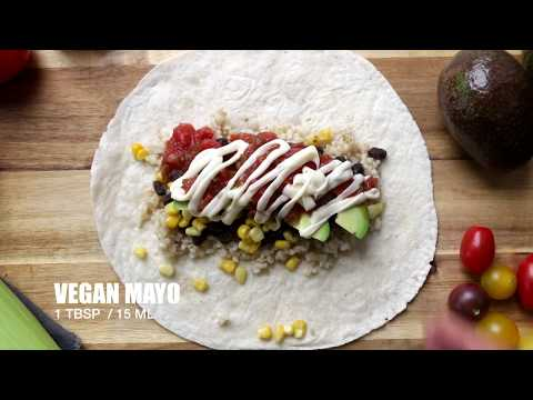 black beans burritos   The Buddhist Chef