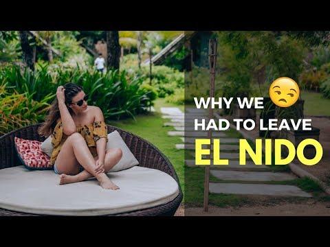 Why we had to LEAVE El Nido 😱 El Nido Palawan - The Philippines and Palawan Island Travel Vlog