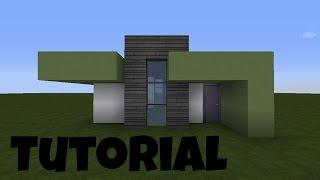 Minecraft Modernes Haus Dienstag Fichtenholzweiß Bauen Tutorial - Minecraft haus bauen tutorial deutsch