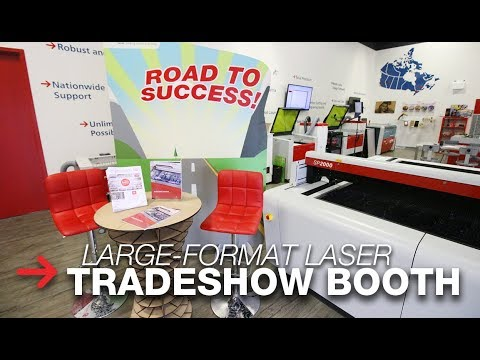 Custom Tradeshow Booth | Large Format Laser Cutting | SP2000