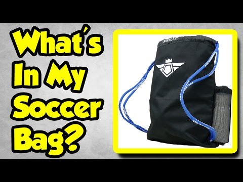 What's In My Soccer Bag?