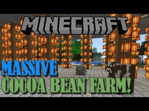 Massive Minecraft Cocoa Bean Farm [Tutorial]