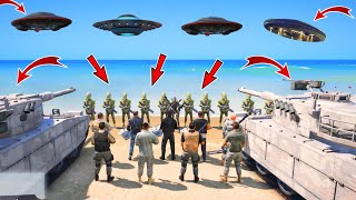 GTA 5 : THE END OF ALIENS 👽 FROM LOS SANTOS  || BB GAMING