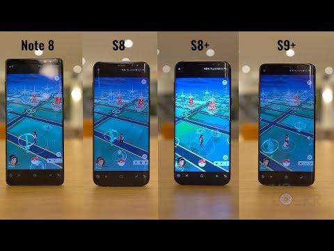 Speed Test: Samsung Galaxy S9 Plus vs S8 vs S8 Plus vs Note8