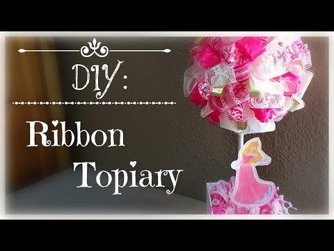 DIY: Ribbon Topiary