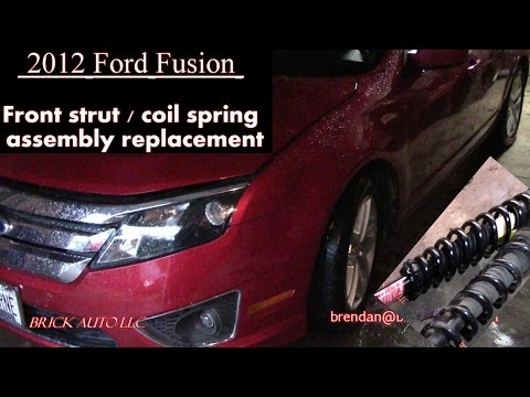 2012 Ford Fusion - front spring & strut assembly replacement & the Ford Dealer said you need what?!