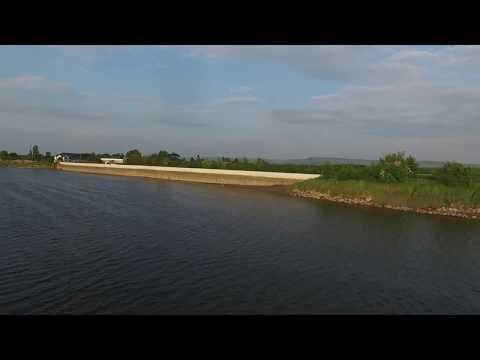 The River seven and frampton, the anchor, scenic drone flight dji phantom 3 advanced