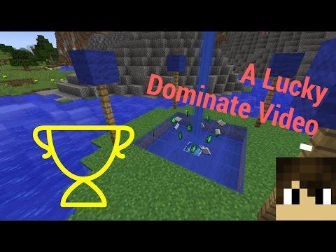 A Lucky Dominate Video//Mineplex