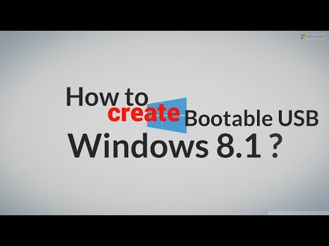 [SIMPLE] How to make bootable USB Windows 8.1 - 2017