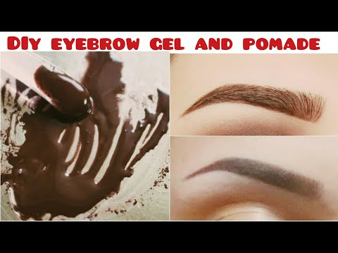 DIY EyeBrow Pomade | How To Make Eyebrow Gel At Home |
