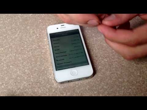 how to check IPhone 4S esn /imei Verizon