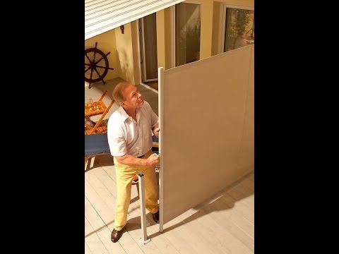 How to Install a Retractable Horizontal Privacy/Wind Screen