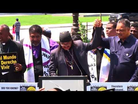 Apache activist helps lead Washington D.C. protest | Cronkite News