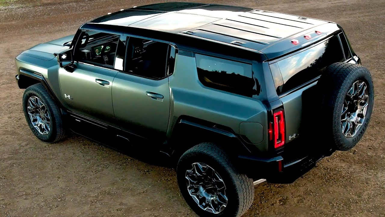 2024 Hummer EV SUV - Incredible Super SUV!