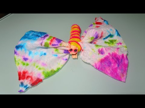How To Make a Tie Dye Butterfly