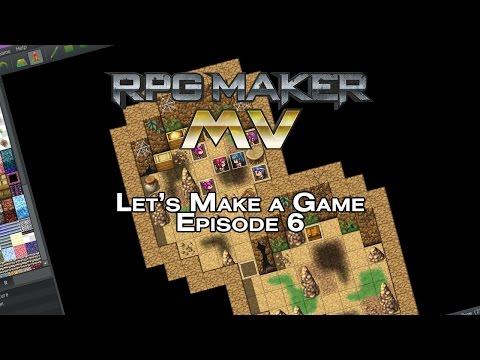 RPG Maker MV - Let's Make A Game - Episode 6