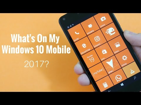 What's On My Windows Phone 2017?