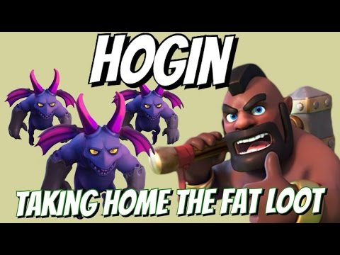 Hog Riders & Minions (HOGIN) Attack Strategy Gameplay |