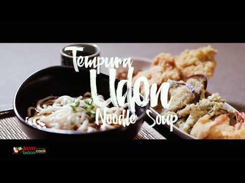 Recipe #2 - Tempura Udon Noodle Soup