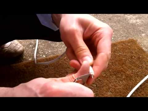 How to connect satellite, LNB or coaxial cable to F Connector with common tools