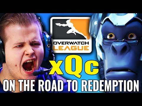 xQc Road to Redemption & Outlaw's CRUSH Stage 2's First Week! [Overwatch News and Highlights]
