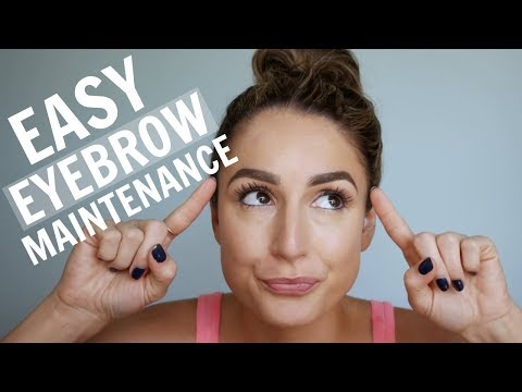 In LESS Than 5 Minutes: Trim, Shape, & Clean Up Your Brows