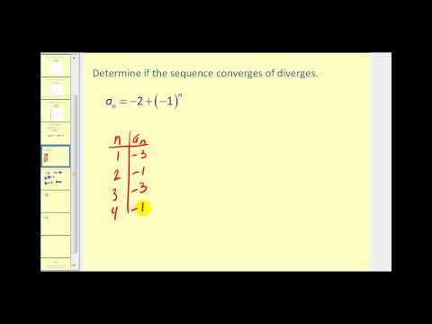 Limits of a Sequence