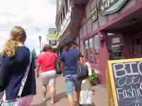 Downtown Minocqua Shopping