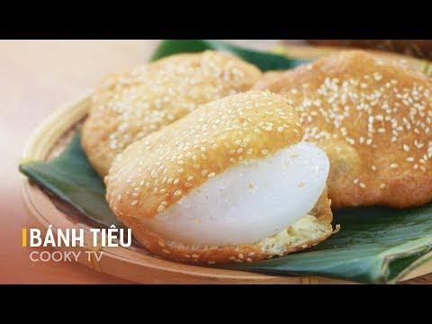 Cách làm BÁNH TIÊU ai ăn cũng ghiền - How to make Vietnamese Hollow Donuts - Cooky TV