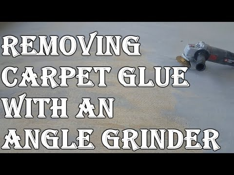 How To Remove Carpet Adhesive From Concrete