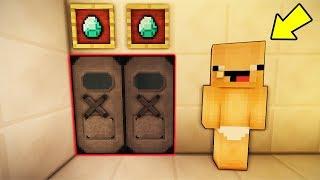 SAKAR BEBEĞİN GİZLİ GEÇİTİNİ SOYDUM !! 😱 - Minecraft