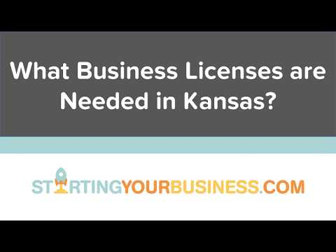 What Business Licenses are Needed in Kansas - Starting a Business in Kansas